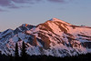 Mammoth Peak, Sunset.