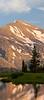 Mammoth Peak Rises Above Tioga Pond.