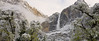 Spring Snow Dusting on Upper Yosemite Fall.   ©2011 James McGrew