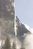 El Capitan Rises through the Fog.  ©2011, James McGrew