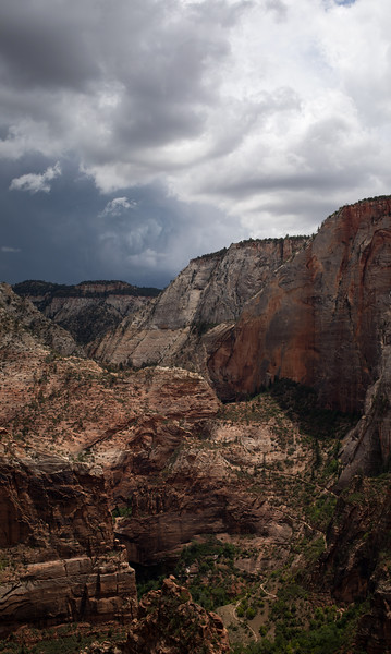 Weeping Rock Abstract from Angel's Landing