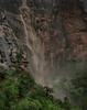 Waterfall Flowing Out of Refrigerator Canyon Subsides as Rain Lets Up