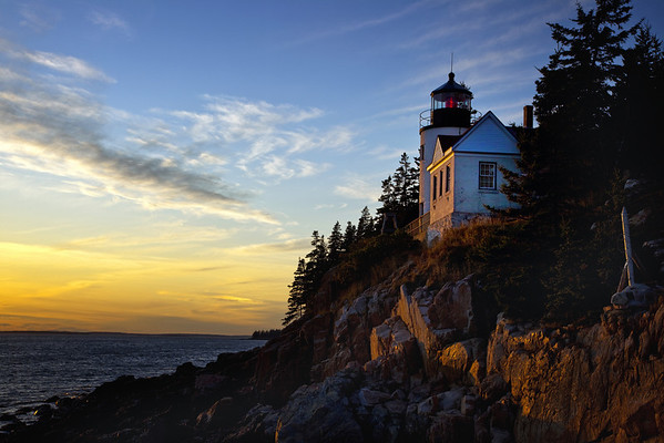 Bass Harbor Head Light, Acadia National Park, Maine