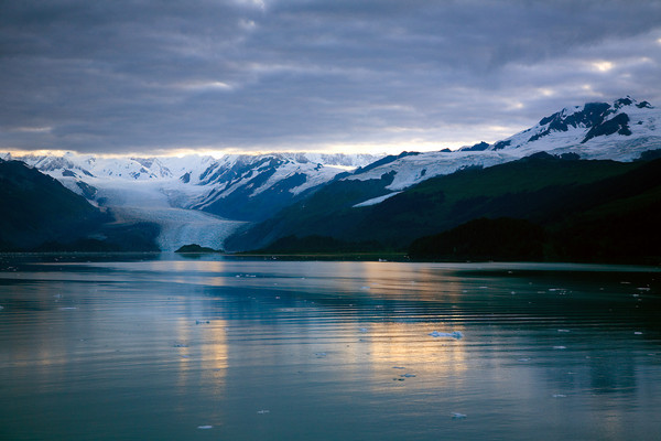 College Fjord in the Chugach National Forest, Alaska