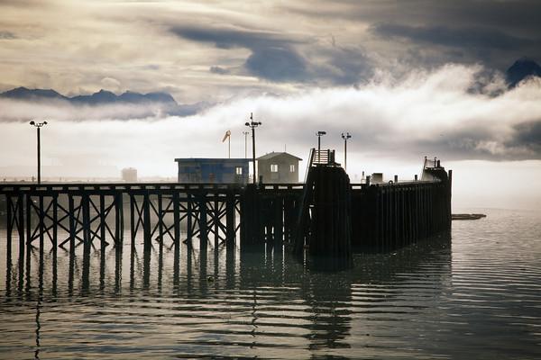 Pier in Valdez, Alaska