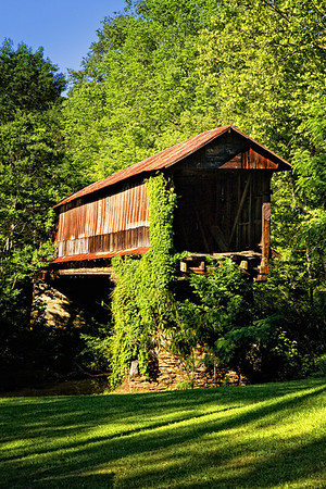 Waldo Covered Bridge, Waldo, Alabama