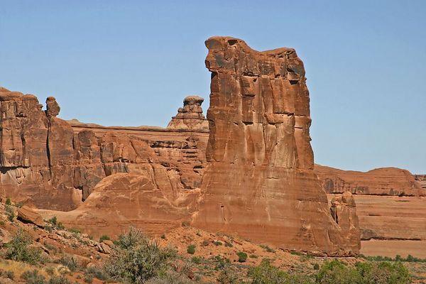 Sheep Rock, Arches NP, Moab, Utah