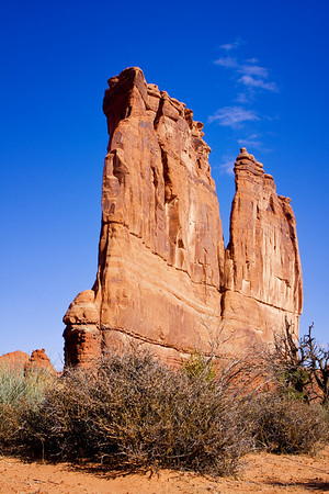 Courthouse Towers, Arches National Park, Moab, Utah (October 2008)
