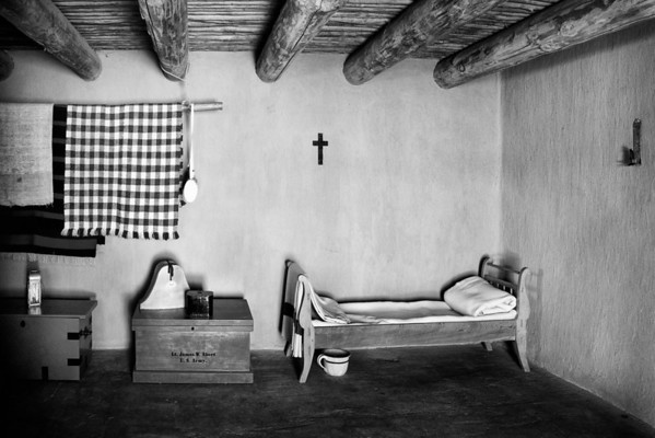 Room of Lt. James W. Abert, US Army, at Bents Old Fort National Historial Site, Colorado