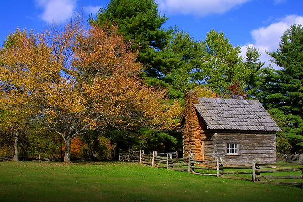 Puckett's Cabin, Blue Ridge Parkway, Virginia