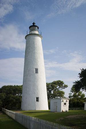 Ocracoke Lighthouse - Outer Banks - North Carolina