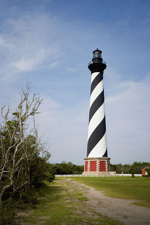 Cape Hatteras Lighthouse - Outer Banks - North Carolina