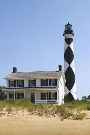 Cape Lookout Lighthouse - Outer Banks - North Carolina