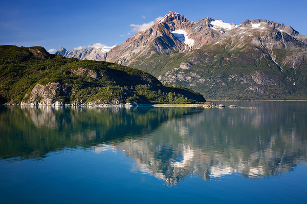Scene in Glacier Bay National Park, Alaska