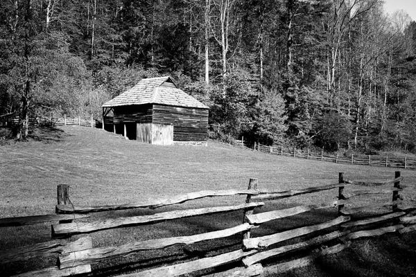 Will Messer Barn in Cataloochee, Great Smoky Mountains National Park