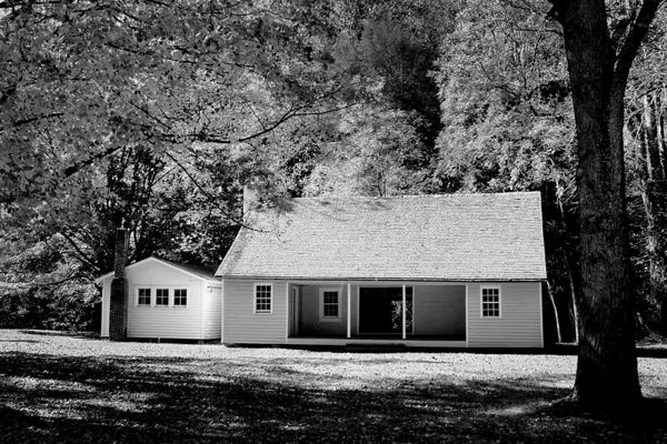 Palmer House in Cataloochee, Great Smoky Mountains National Park