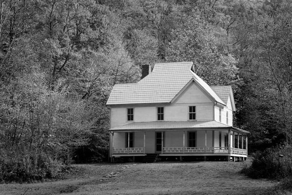 Caldwell House in Cataloochee, Great Smoky Mountains National Park