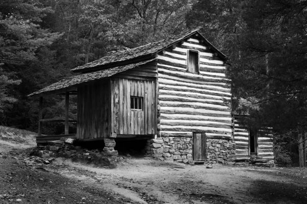 Elijah Oliver Place in Cades Cove, Great Smoky Mountains National Park, Tennessee