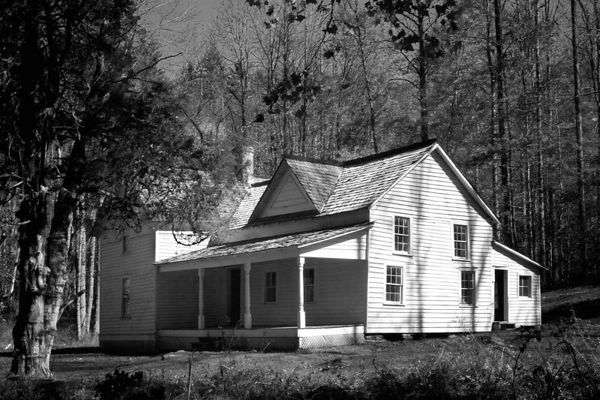 Woody House in Cataloochee, Great Smoky Mountains National Park