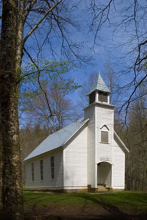 Palmer Chapel, Cataloochee, Great Smoky Mountains National Park