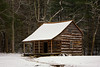 Carter Shields Cabin in Cades Cove, Great Smoky Mountains National Park, Tennessee
