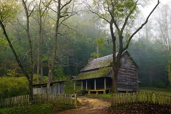 Tipton House, Cades Cove, Great Smoky Mountains National Park