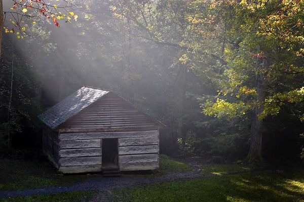 Litte Greenbrier Schoolhouse, Great Smoky Mountains National Park, Tennessee