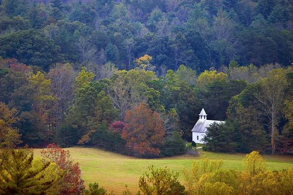 Methodist Church, Cades Cove, Great Smoky Mountains National Park