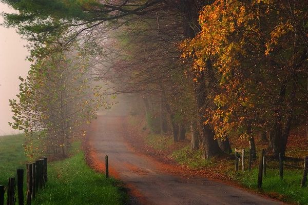 Hyatt Lane, Cades Cove, Great Smoky Mountain National Park