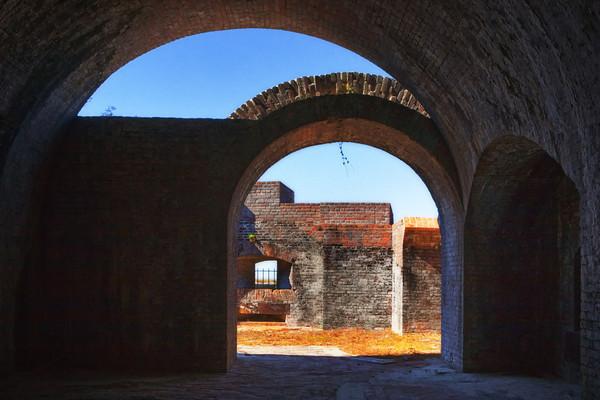 Fort Pickens, Santa Rosa Island, Gulf Islands National Seashore, Florida