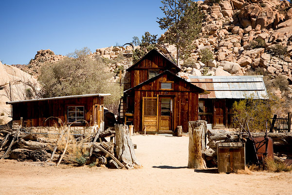 Desert Queen Ranch (aka: Keys Ranch) in Joshua Tree National Park, California