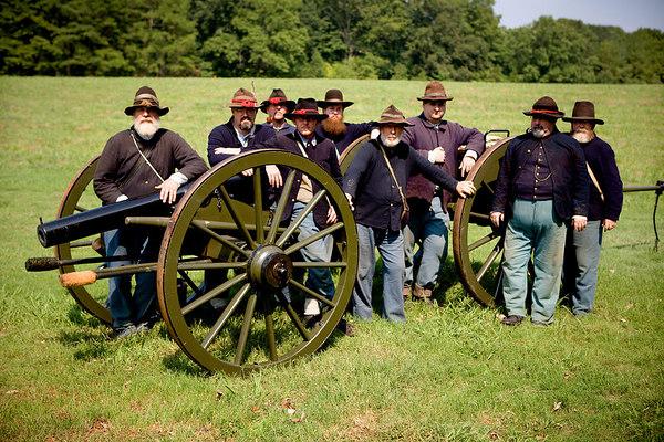 Kennesaw Mountain Gun Crew, Kennesaw Mountain National Battlefield Park, Georgia.