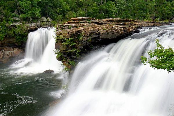 Little River Falls, De Kalb County, Alabama