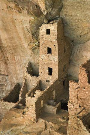Square Tower House, Mesa Verde National Park, Colorado