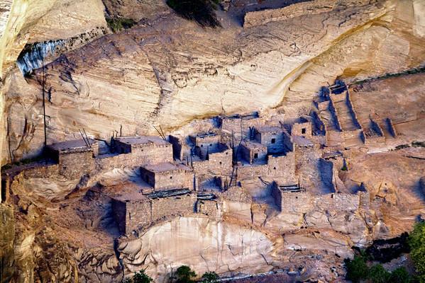 Betatakin Cliff Dwellings in Betatakin Canyon at Navajo National Monument, Arizona