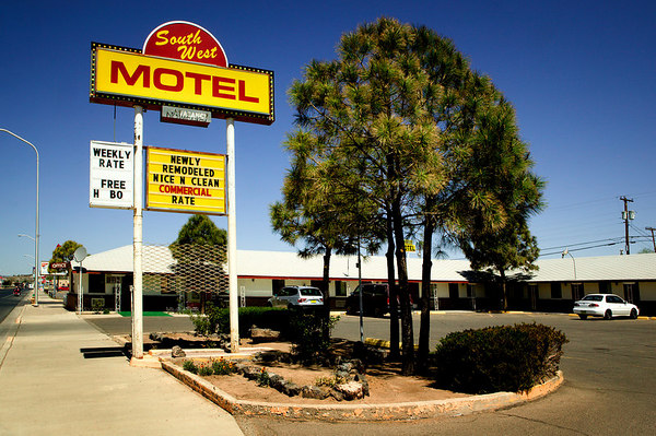 South West Motel in Grants, New Mexico along Historic Route 66.