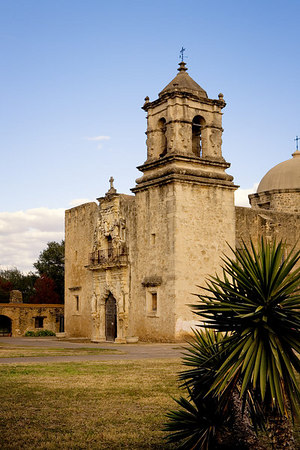Mission San José, San Antonio Missions National Historical Park, San Antonio, Texas.