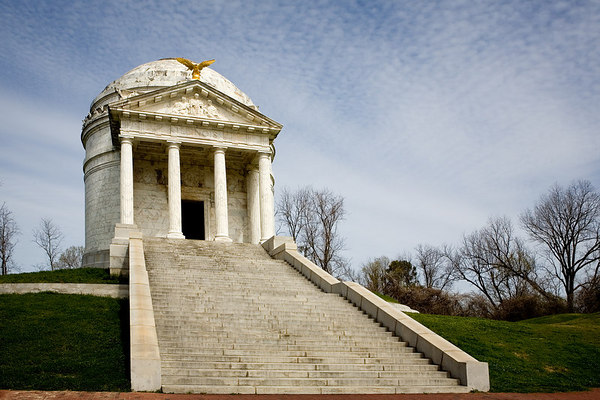 Illinois Memorial at Vicksburg National Military Park in Vicksburg, Mississippi