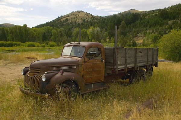 Chevrolet Truck - Virginia City, Montana