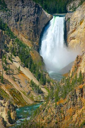 Lower Yellowstone Falls, Yellowstone National Park, Wyoming