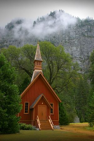 Chapel in Yosemite Valley
