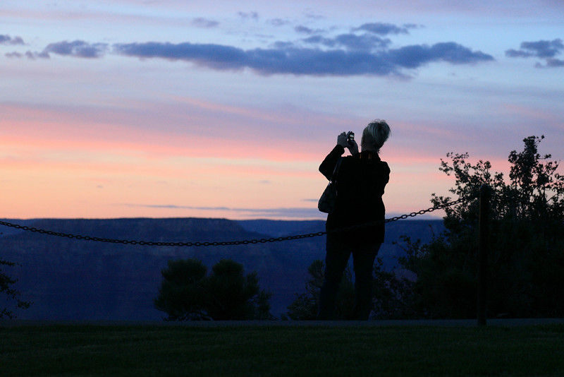 Shooting the Sunset at the Grand Canyon