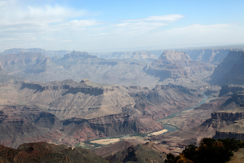 from Navajo Point in early light.... the Colorado River