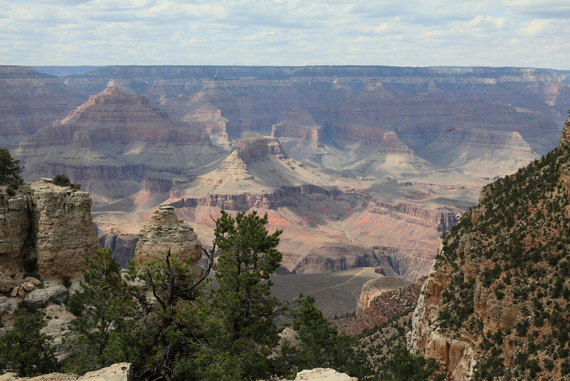 View on the way to Yavapai Point Overlook