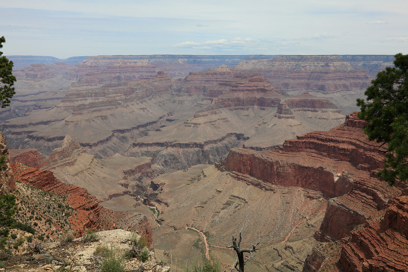 from Mohave Point Overlook