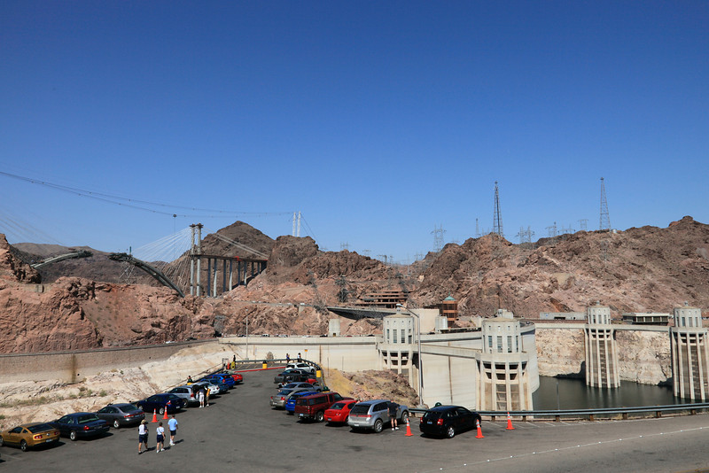 Approaching Hoover Dam