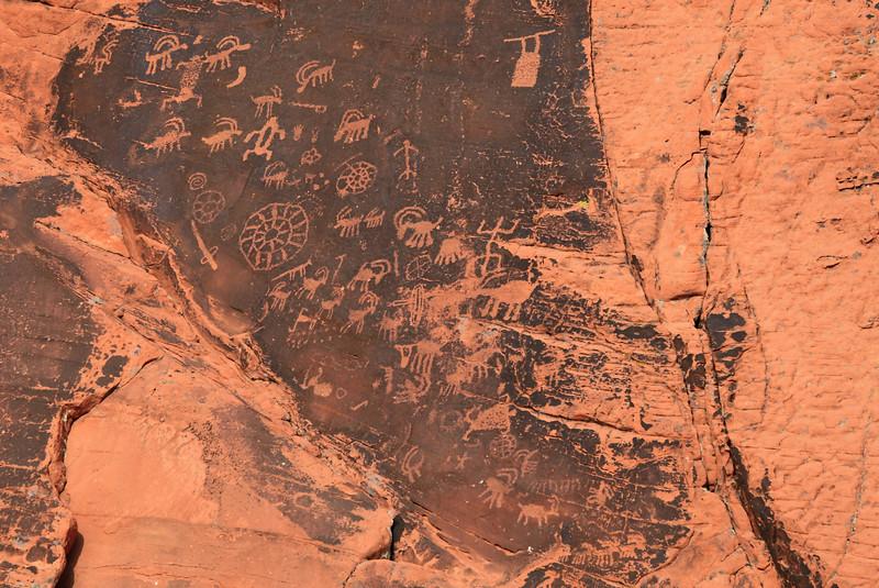 The Petroglyphs Close Up - 2000 BC