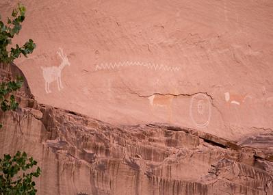 Antelope Canyon Petroglyph