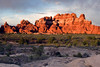 Sunset at the Devil's Kitchen in the Needles District of Canyonlands National Park.