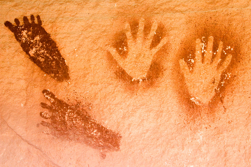 Pictographs, Needles District of Canyonlands National Park.
